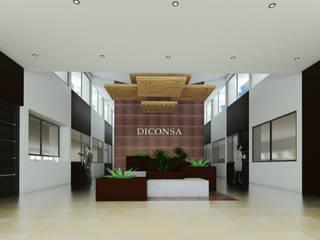 Remodelación Oficinas Diconsa de PRISMA ARQUITECTOS Moderno