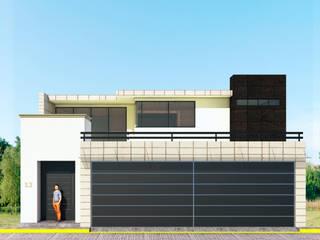 Casa Encinos Casas modernas de PRISMA ARQUITECTOS Moderno