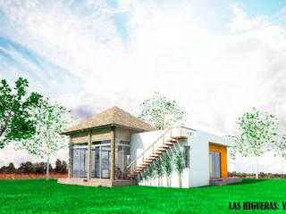Villa 7 Campestre Casas rústicas de PRISMA ARQUITECTOS Rústico