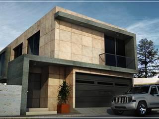 Casa Vigo 82 Casas modernas de PRISMA ARQUITECTOS Moderno