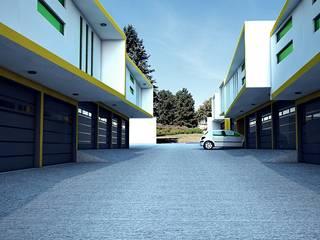 Motel Bravo Dormitorios minimalistas de PRISMA ARQUITECTOS Minimalista