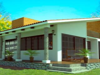 Casa de Campo Casas rústicas de PRISMA ARQUITECTOS Rústico