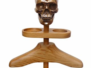 Hatstand Valet in oak or walnut: eclectic  by Gentleman's Valet Company, Eclectic