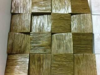 Деревянная дубовая мозаика от Euro-Deck Лофт