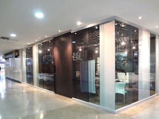 Katherine Aguilar Modern windows & doors Glass White