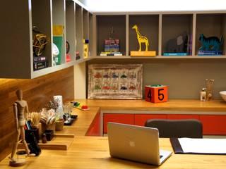 CONSULTÓRIO 13M²: Clínicas  por Elisa Vasconcelos Arquitetura  Interiores,Moderno