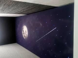 """""""DMQ Sky"""" fabricación e instalación de paneles de techo estrellado. de DMQSKY Moderno"""