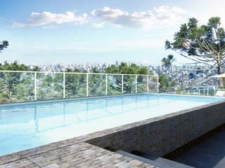 André Petracco Arquitetura Piscinas de estilo moderno
