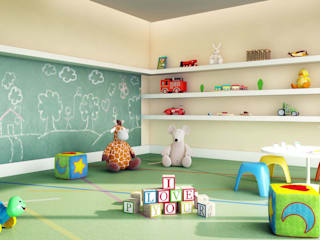 André Petracco Arquitetura Modern Kid's Room