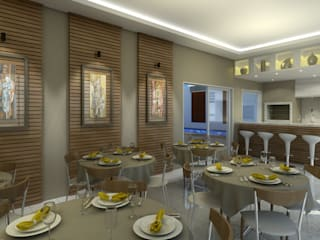 André Petracco Arquitetura Modern Dining Room