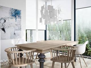 Dom w Norwegii: styl , w kategorii Jadalnia zaprojektowany przez MOODPROJECT