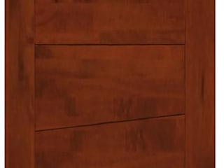 Modelo Montero Puertas y ventanas modernas de Ignisterra S.A. Moderno Madera Acabado en madera