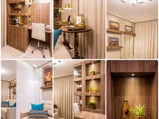 Home Office by Fernanda Ferraz - INK Design e Interiores