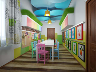Eclectic style nursery/kids room by Indika-art Eclectic