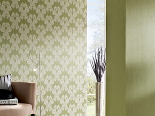 Architects Paper Paredes y pisosPapeles pintados Verde