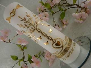 Hochzeitskerze Lebensbaum von Lenz Kerzen Ausgefallen