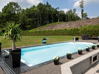Eclectic style pool by Hesselbach GmbH Eclectic