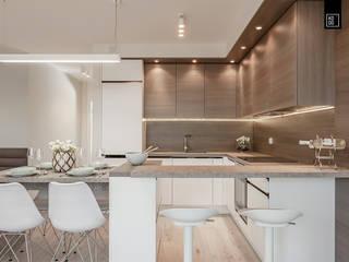 Moderne keukens van KODO projekty i realizacje wnętrz Modern