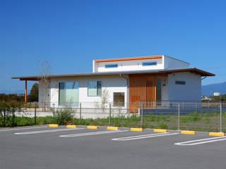 Modern Houses by POTOS DESIGN OFFICE Modern