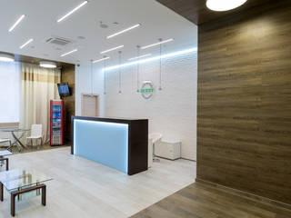 Дизайн-проект женского фитнес-центра BERRY BY GRAND ARENA: Коммерческие помещения в . Автор – Архитектурная группа 'ДАЙМОНД' , Минимализм