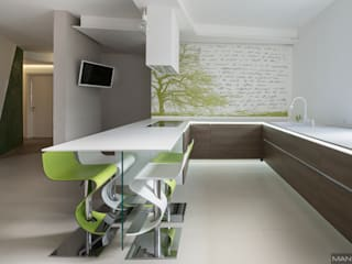 modern Kitchen by Mangodesign