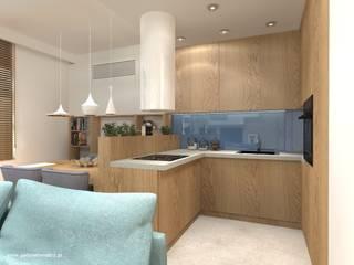 Mieszkanie Białołęka: styl , w kategorii Kuchnia zaprojektowany przez Gabinet Wnętrz