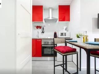 Reforma Integral de Vivienda 40 m2: Cocinas de estilo  de Fecofer, Proyectos y Reformas