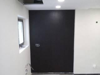 Pintura especial de Pizarra Fecofer, Proyectos y Reformas Paredes y suelos de estilo moderno Pizarra Negro