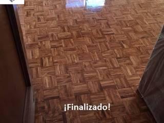 Acuchillado y barnizado de dormitorio: Dormitorios de estilo  de Fecofer, Proyectos y Reformas