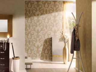 Architects Paper 牆壁與地板壁紙 Yellow
