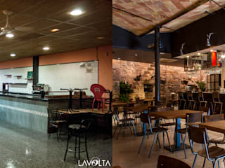 Industrial style bars & clubs by Lavolta Industrial