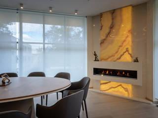 Офис на Якиманке: Рабочие кабинеты в . Автор – Дизайн-студия «ARTof3L»