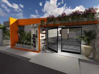 León House: Casas de estilo  por Cup Studio