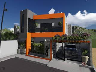 León House: Casas de estilo moderno por Cup Studio