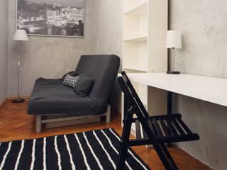 Kraupe Studio Industrial style bedroom