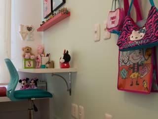 Dormitório Menina - Residência Cond. Clarity Light Living Tania Bertolucci de Souza | Arquitetos Associados Quarto infantil moderno