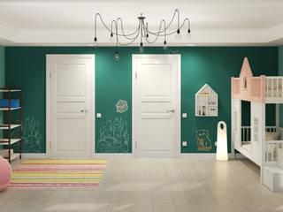 Cuartos infantiles de estilo ecléctico de Center of interior design Ecléctico