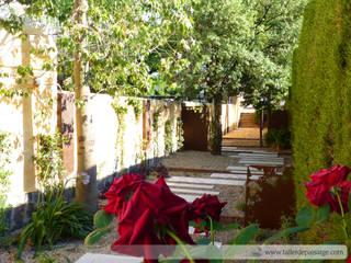 Taller de Paisatge Mediterranean style garden