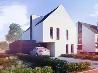 Duurzame tweekapper en vrijstaande woning: moderne Huizen door FAB5+