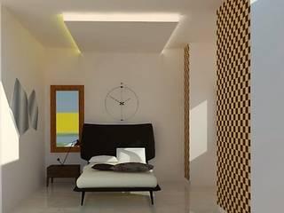 Dormitorios minimalistas de Urban Shaastra Minimalista