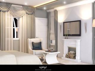 Camera da letto in stile  di KARU AN ARTIST