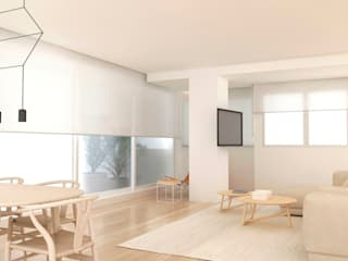 ático sostenible Comedores de estilo mediterráneo de Studio Transparente Mediterráneo