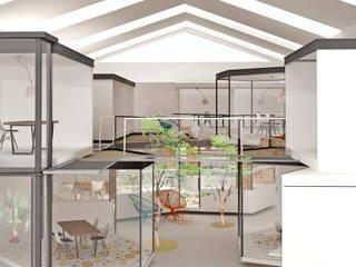 COOVIVE , Viveros de empresas y coworking sostenible Edificios de oficinas de estilo mediterráneo de Studio Transparente Mediterráneo