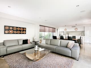 Churchlands Residence Modern living room by Moda Interiors Modern