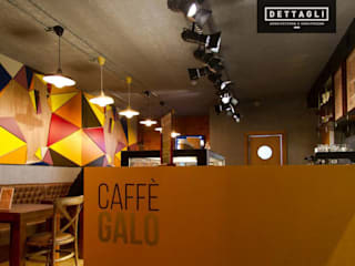 Caffè Galo - Braga:   por LIA - LOJA DE ILUMINAÇÃO ,Moderno