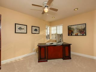 Staged to Sell Occupied Home in Oceanside, California : classic Study/office by Metamorphysis Home Staging Services