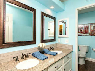 Staged to Sell Occupied Home in Oceanside, California : classic Bathroom by Metamorphysis Home Staging Services