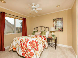 Staged to Sell Occupied Home in Oceanside, California : classic Bedroom by Metamorphysis Home Staging Services