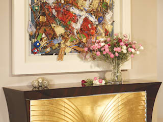 Nasoni Durius_ConceptDesign Living roomCupboards & sideboards Wood Amber/Gold