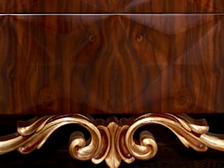 Bernini Durius_ConceptDesign Living roomCupboards & sideboards Wood Wood effect